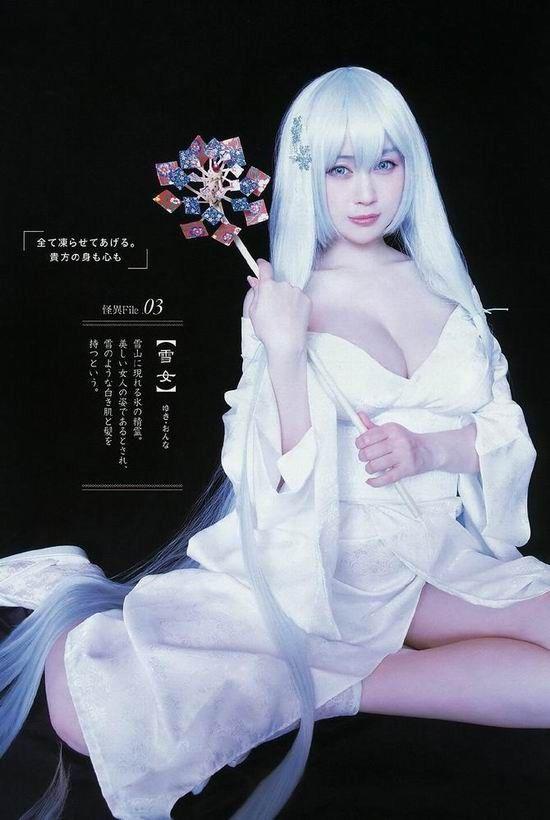 《日本巨乳人妻COSER美照》JPG