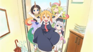 《小林家的龙女仆》TV+OVA 附BD 百度网盘下载